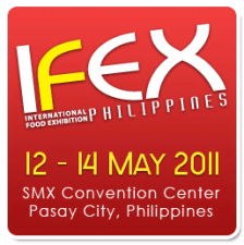 8th International Food Exhibition (IFEX) Philippines 2011