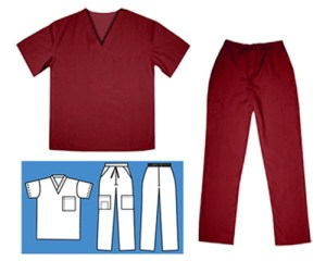 Pant & Scrub Top Set