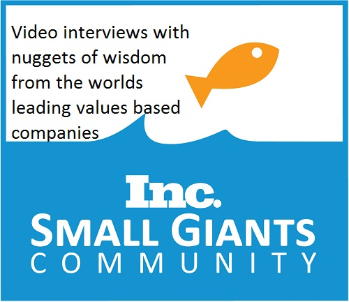 Small Giants Summit 2014 - values driven businesses