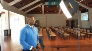 Ramon in video shoot