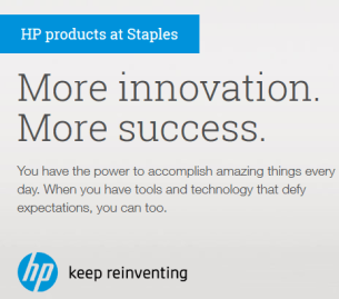 Staples & HP Partner on the Latest Innovative Printing Technology for Small Business Owners