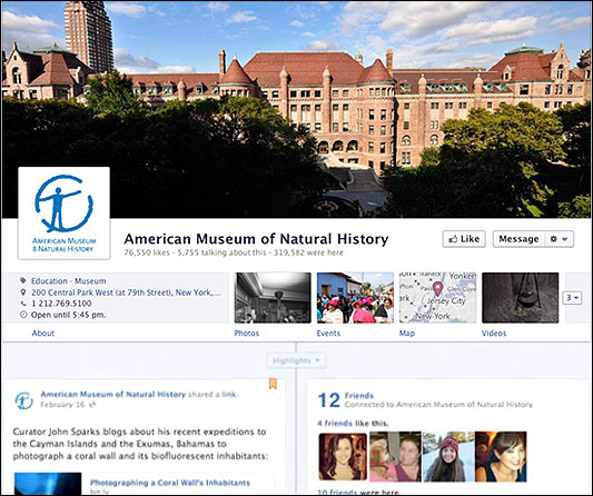 Here's What Facebook's Timeline Looks Like for a Local Business ...