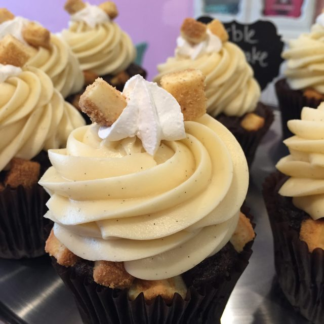 Marble Cheesecake cupcake