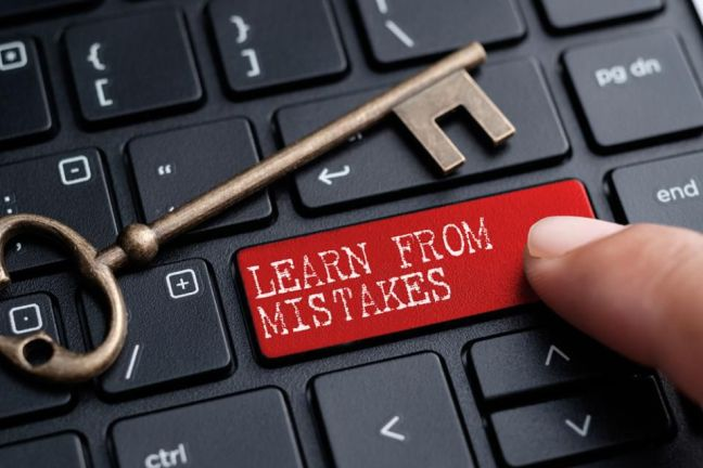 learn from investing mistakes