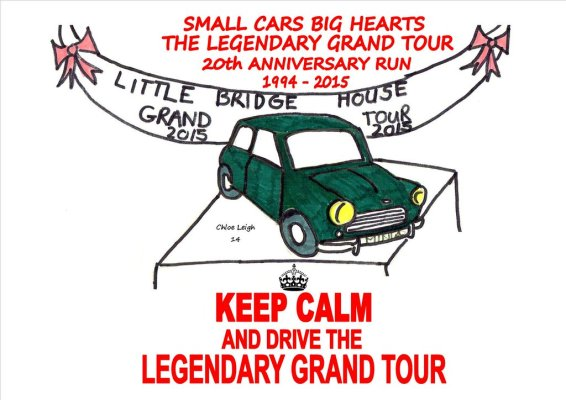 Keep Calm and Drive the Legendary Grand Tour