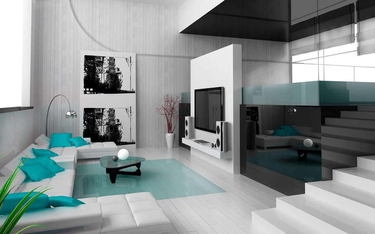 Hightech Interior Style Overview  Small Design Ideas