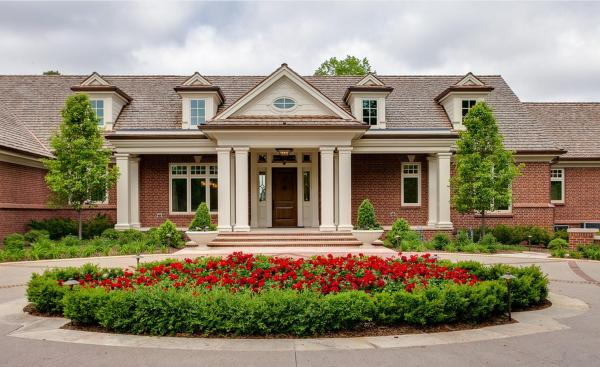 English Country Home Style House Plans