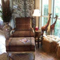 African Style Living Room Design Inspiration Grey Sofa Interior Small Ideas Ottoman In The Antourage