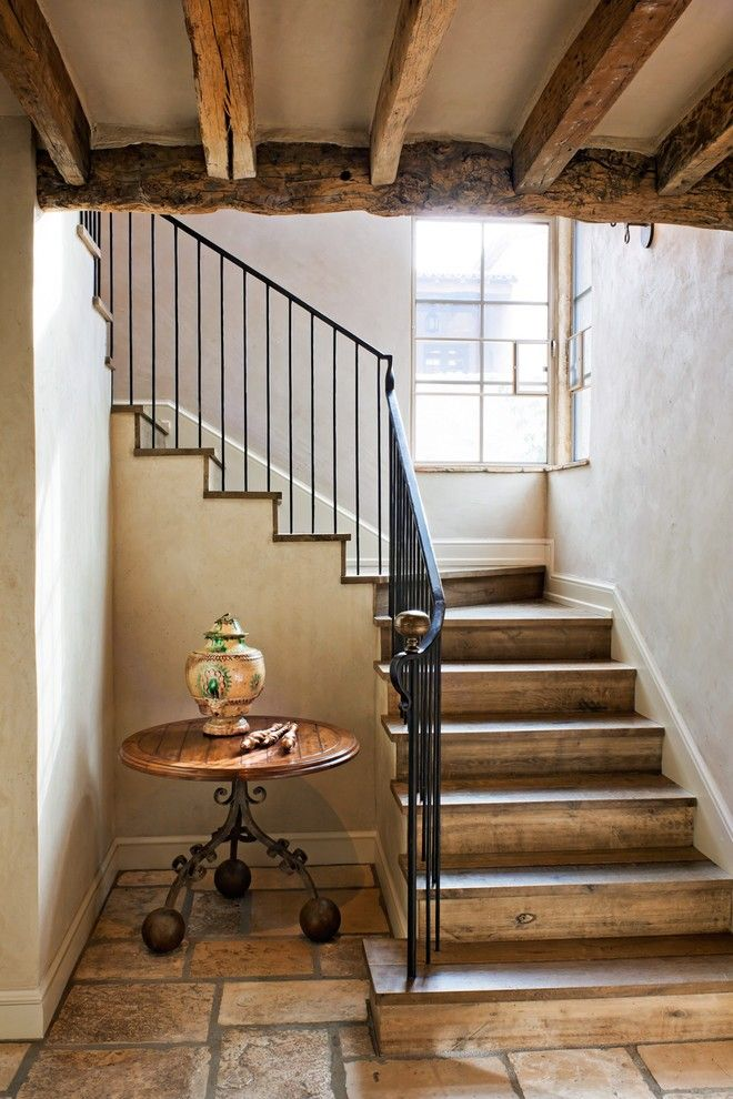 Modern Interior Staircase Materials Photo