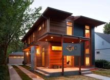 Green Energy Efficient Modern House