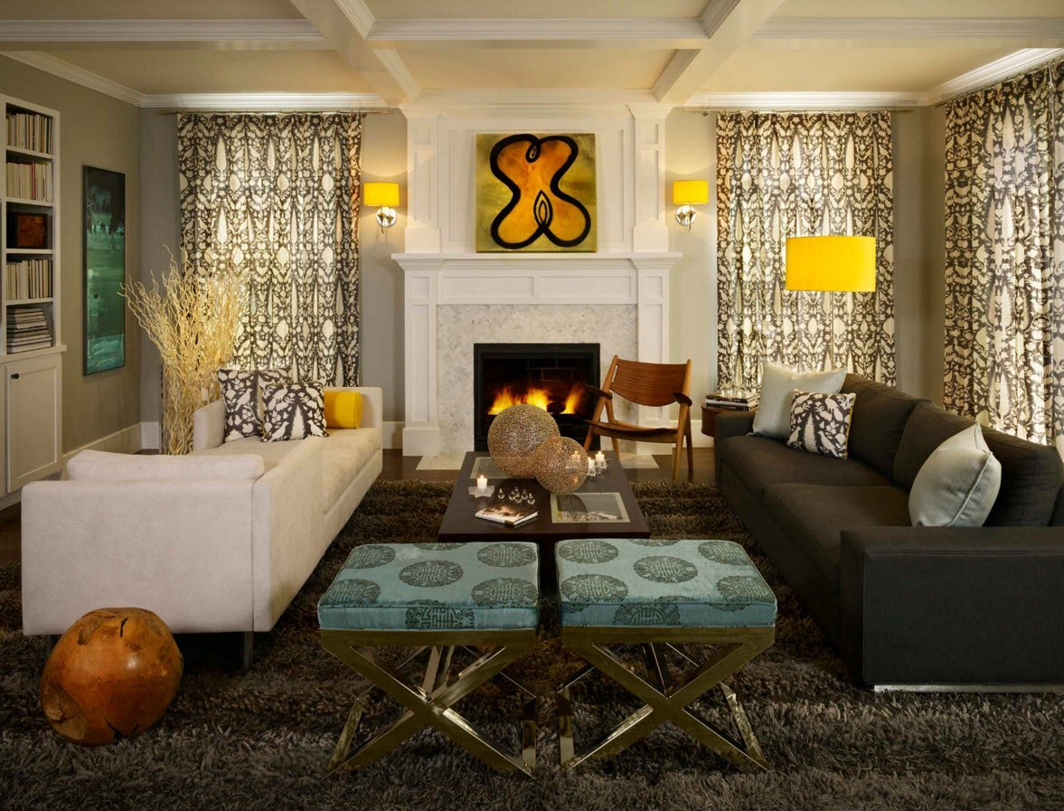 living room curtains design ideas 2016