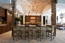 Rustic Tuscan Farmhouse Kitchen Design