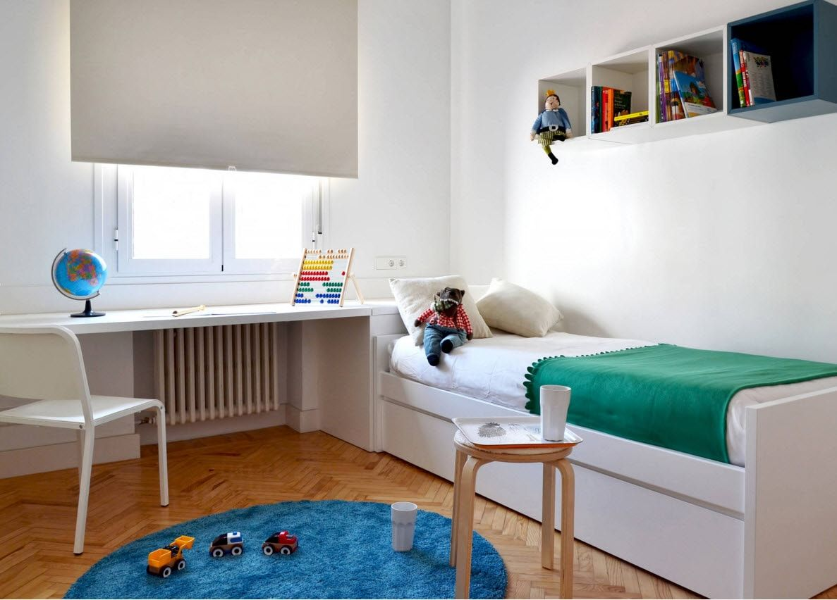 Design Examples of Small Kids Room for Boys Decoration