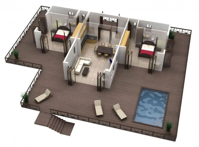 Houses Floor Plans Diffe Models