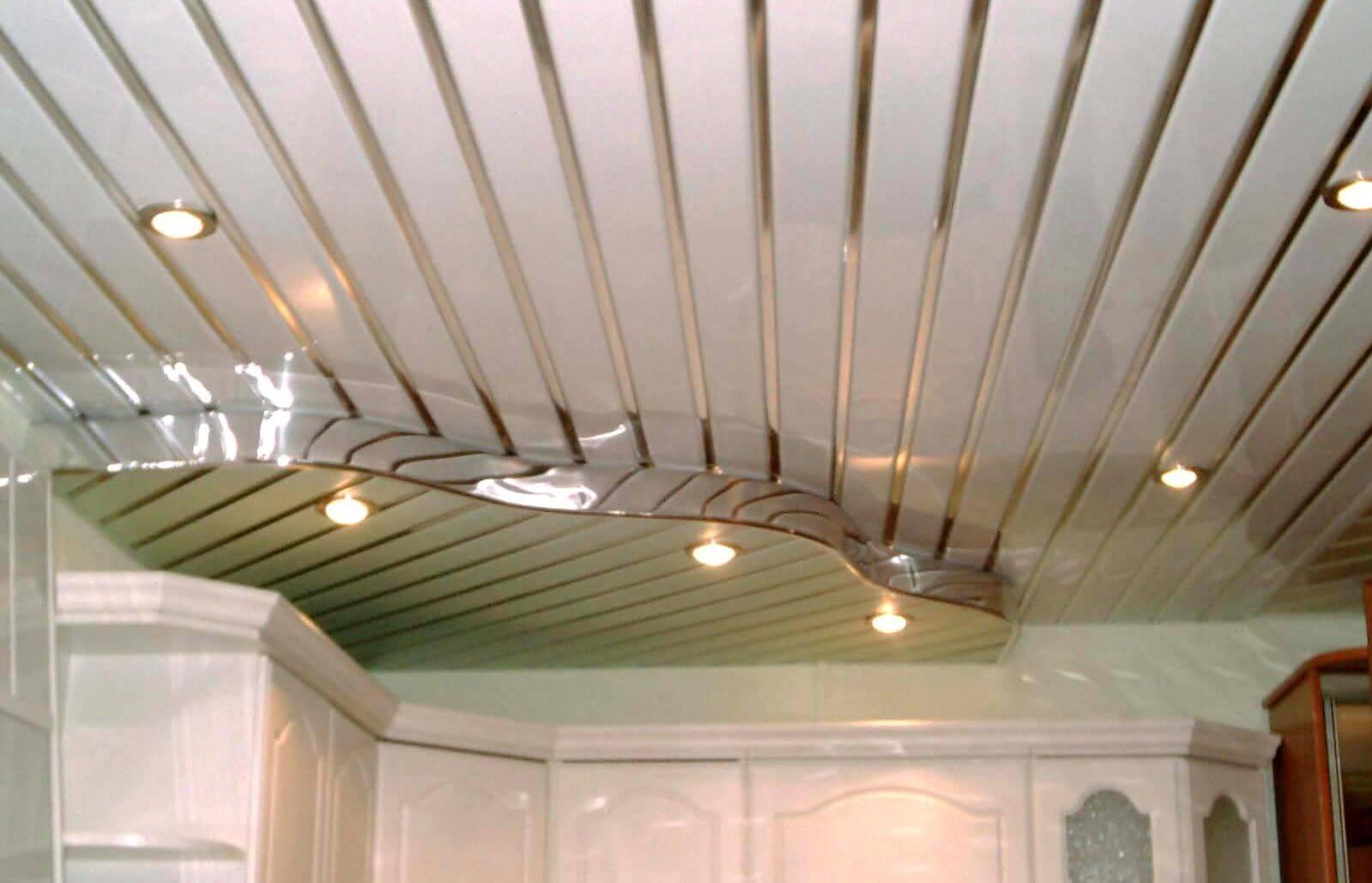 Aluminum Plank (Pinion) Ceiling Construction, Design