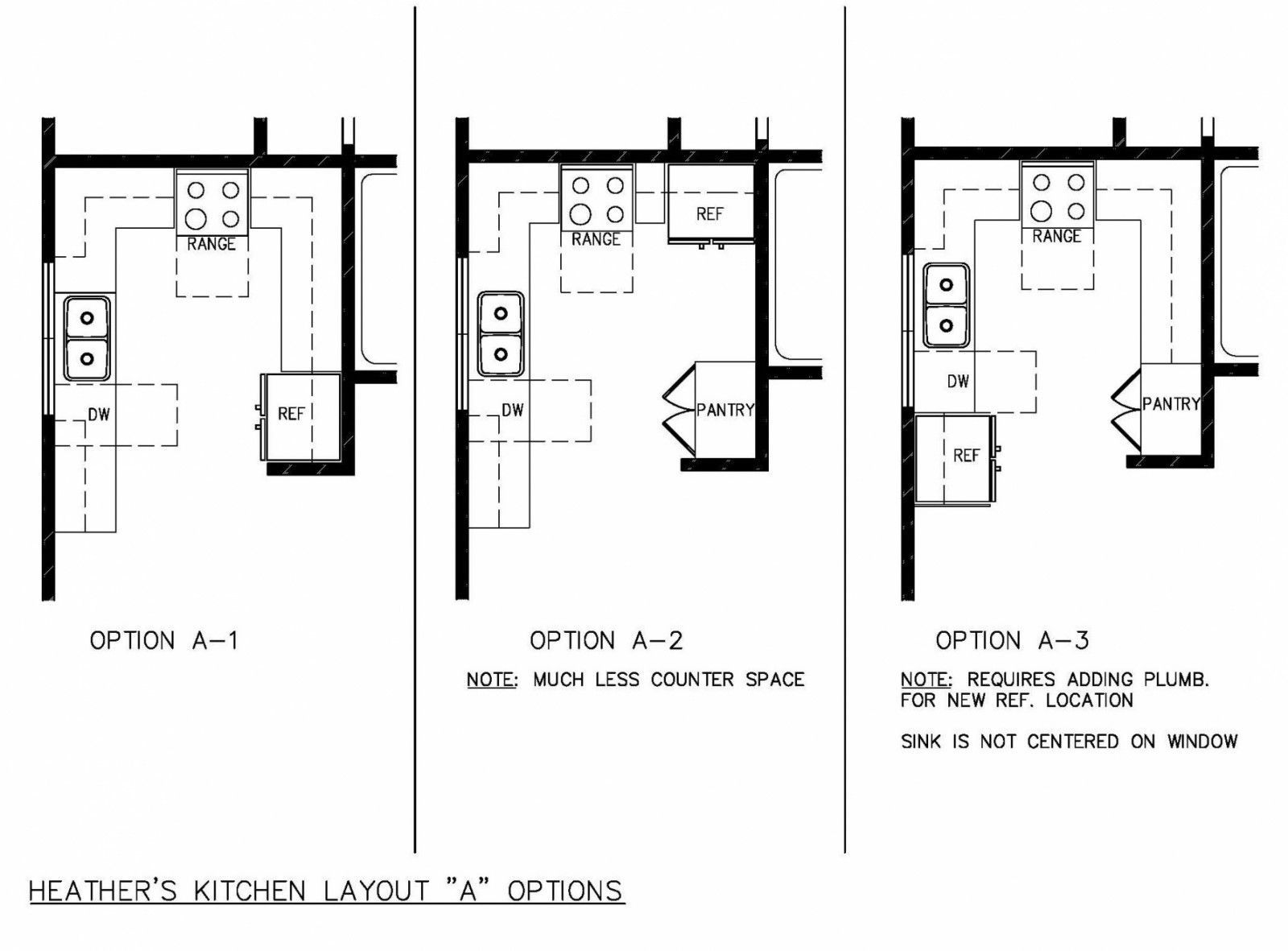 U Shaped Kitchen Floor Plans Island