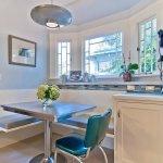 Dining Area With Corner Furniture Set Small Design Ideas
