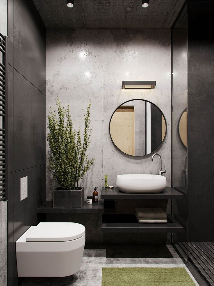 Black Bathroom Interior Design Ideas With Photos And Remodeling Advice