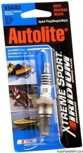 Autolite XS985DP Xtreme Sport Small Engine Spark Plug 1 per Card
