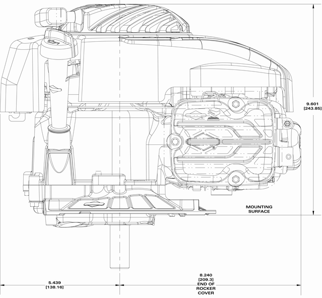 Small Engine Source.com 9P702-0116 Briggs & Stratton 140cc