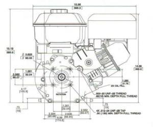 Small Engine Suppliers  Briggs & Stratton 65 HP INTEK I