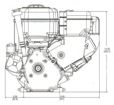 7.5 HP INTEK ™ SNOW Model Series 12D400