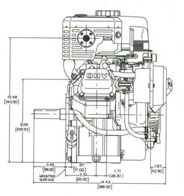 7.5 HP VANGUARD ™ Model Series 138400