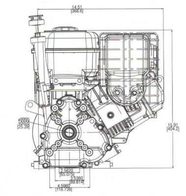 8 HP INTEK ™ I/C Model Series 202400