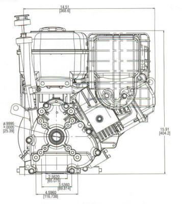 10 HP PowerBuilt ™ OHV Model Series 204400
