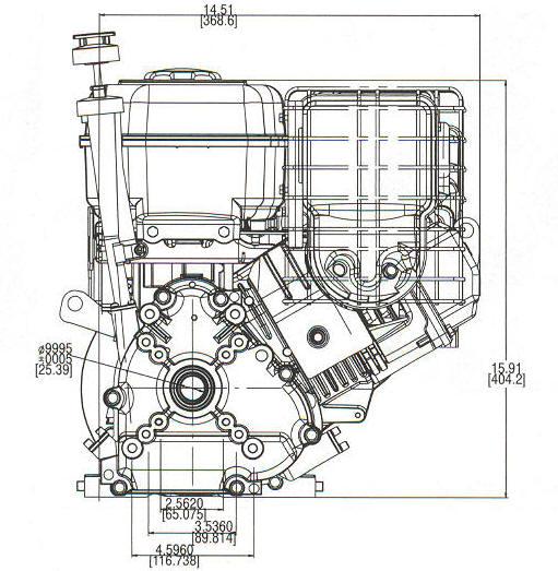 10 HP INTEK ™ PRO Model Series 206400