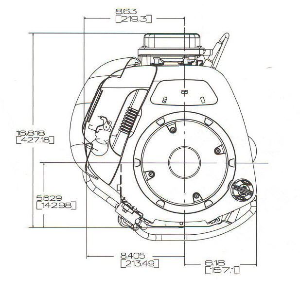 9 HP INTEK ™ I/C Model Series 212900