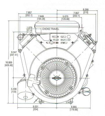 16 HP VANGUARD ™ Model Series 303700