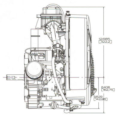 17.5 HP INTEK ™ Model Series 31G700