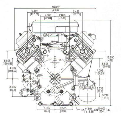18 HP VANGUARD ™ Model Series 350700