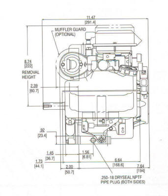 briggs and stratton oil change 7 way trailer wire diagram 3.5 hp i/c model series 92200