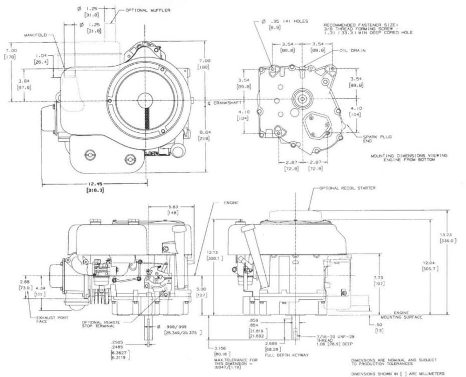 17 5 Ohv Briggs And Stratton Engine Diagram