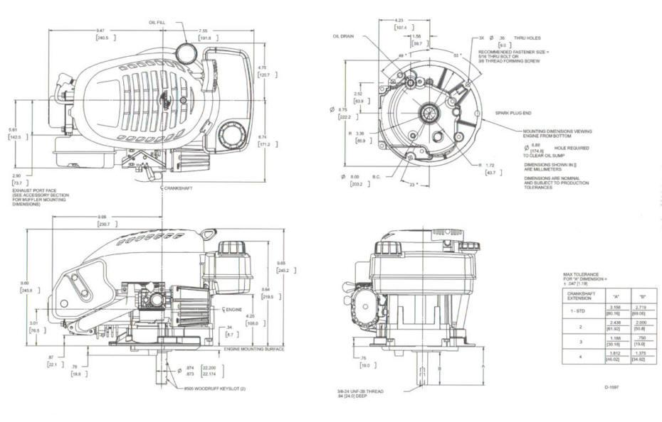 Tecumseh Model Series OVRM105