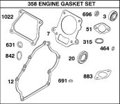 Briggs & Stratton Gasket Sets for Small Engines