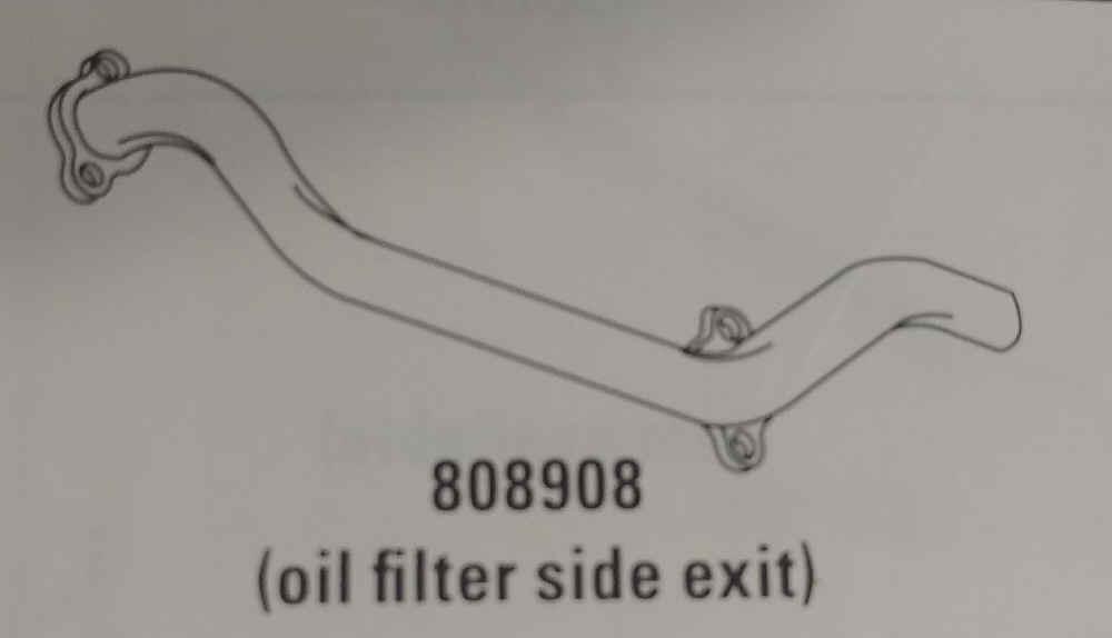 Briggs Stratton Exhaust Manifold Part No 808908