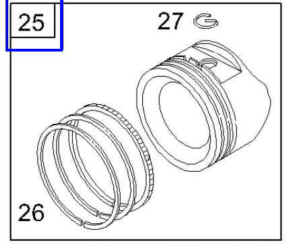 Briggs & Stratton Piston Assemblies for Small Engines