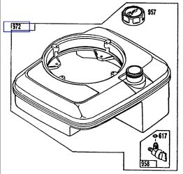 Briggs & Stratton Fuel Tanks for Small Engines