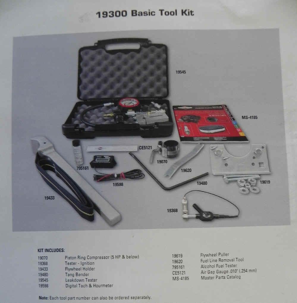 19300 Basic Small Engine Repair Tool Kit