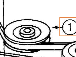 Idler Pulley Part No 78-041