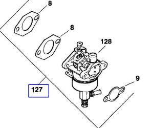 Kohler carburetors for Small Engines