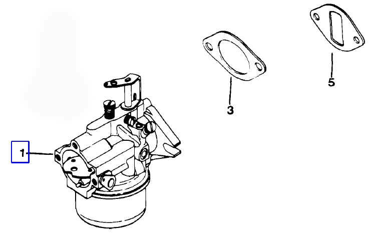 B48m Onan Engine Parts Diagram Onan B43G Engine Parts
