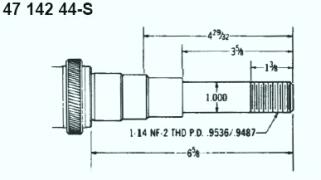 Kohler crankshaftsfor Small Engines