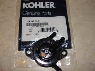 Kohler fuel pumpsfor Small Engines