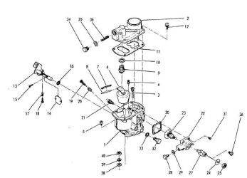 Robin Subaru Carburetors