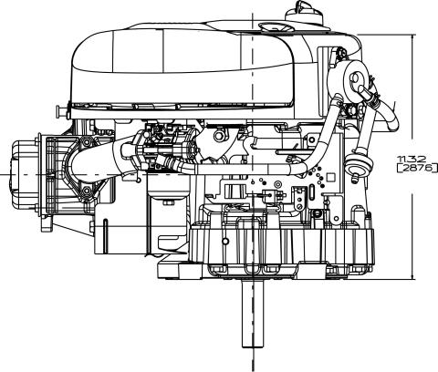Small Engine Surplus 21R702-0070 Briggs & Stratton 10.5 HP
