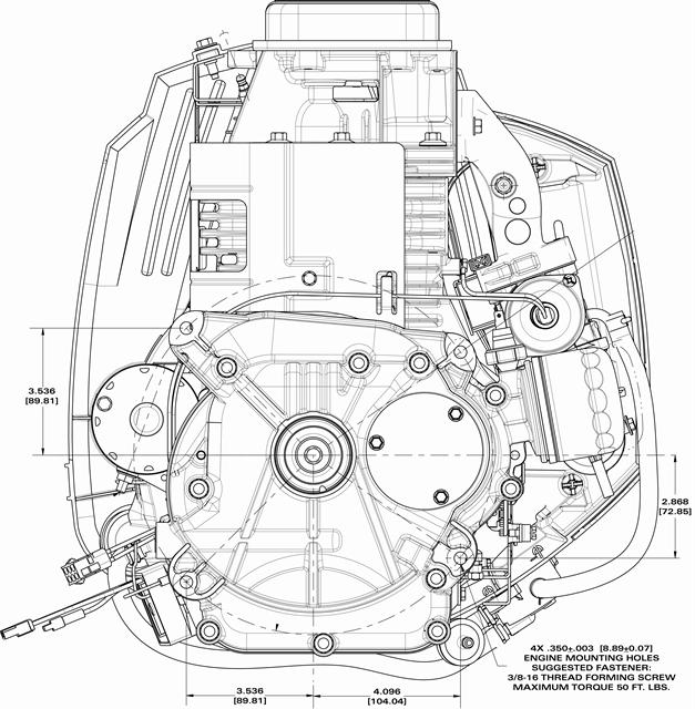 Briggs And Stratton 16 5 Hp Intek Engine Diagram Briggs